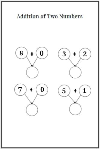 1 digit addition worksheet download
