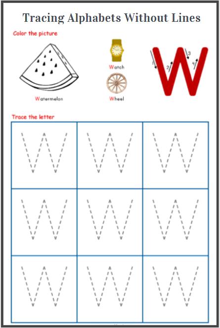 capital alphabet tracing worksheets