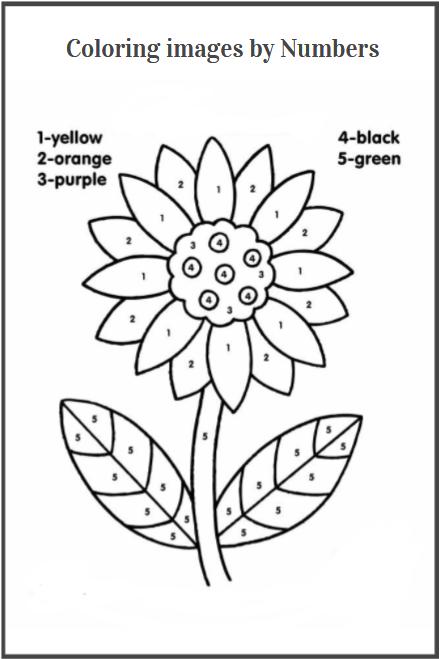 coloring images worksheet