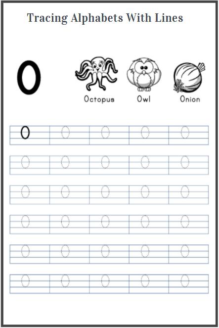 worksheets for letter tracing