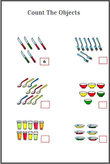 counting worksheets printable