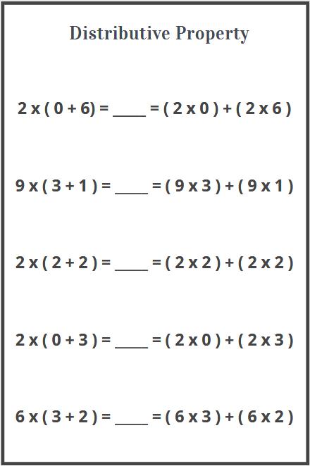 distributive property of multiplication worksheets free download