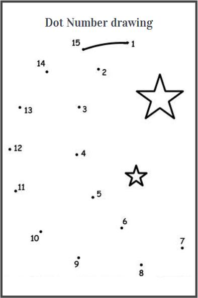dot number drawing worksheets